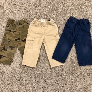 3 pairs of boys Children's Place pants
